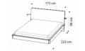 Кровать ECLISSE 160х200