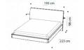 Кровать ECLISSE 180х200