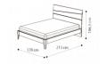 Кровать Storm 160х200