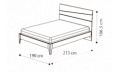 Кровать Storm 180х200