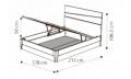 Кровать Storm 160х200 с под.мех.Luna