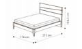 Кровать Fold 160х200