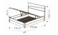 Кровать Fold 160х200 с под.мех.Luna