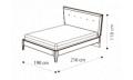 Кровать Soft 160х200