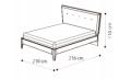 Кровать Soft 180х200