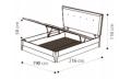 Кровать Soft 160х200 с под.мех.Luna