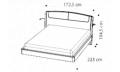 Кровать SINKRO 160х200