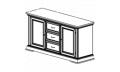 Буфет 3-х дверный с ящиками
