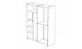 Стеллаж для шкафа: перегородка+3 полки