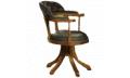 Кресло вращающееся низкое