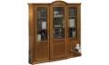 Шкаф книжный 3-х дверный двери стекло