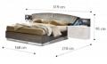 Кровать Drop 160х200