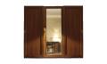 Шкаф-купе TERNA 3-х дверный с зеркалом с зеркалом