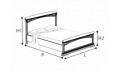 Кровать 160х200