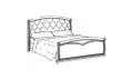 Кровать сп. место 160Х200 CURVO Legno Capitonne