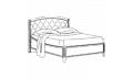 Кровать сп. место 160Х200 CURVO Legno Capitonne без изножья