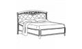 Кровать сп. место 160Х200 CURVO Ferro Capitonne без изножья