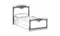 Кровать сп. место 90Х200 CURVO-ferro