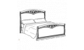 Кровать сп. место 140Х200 CURVO-ferro