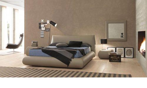 Кровать смягким изголовьем Bolzan Moon с ценой и фото в Симферополе