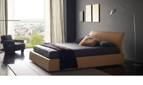 Современная кровать смягким изголовьем Bolzan Elios с ценой и фото в Симферополе
