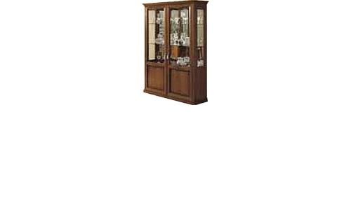 Витрина 2-х дверная (с зеркалом и подсветкой) с ценой и фото в Симферополе
