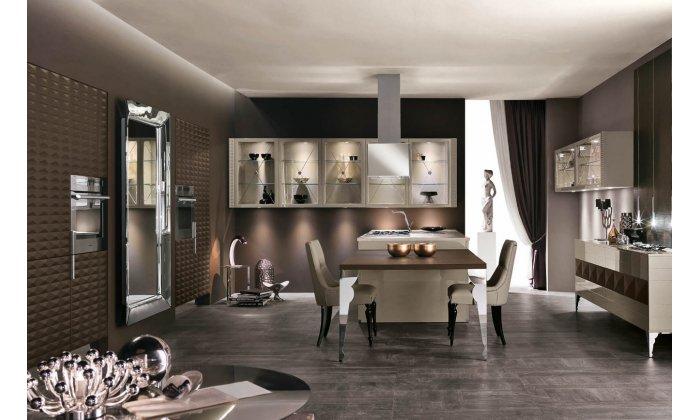 VIP кухня Aster Cucine Luxury glam