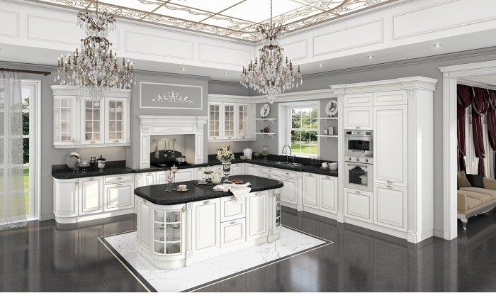 Кухня классическая Орнелла Бьянка