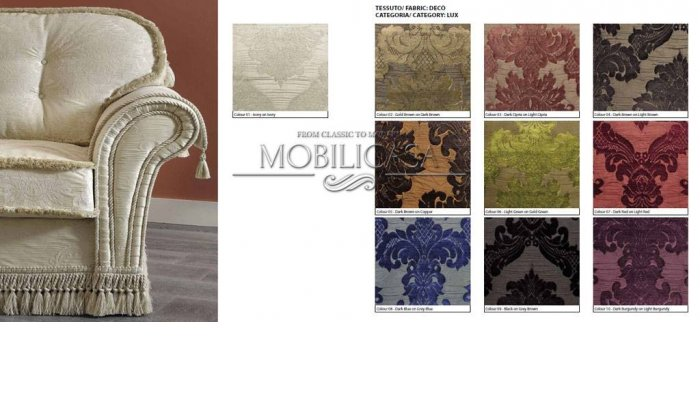 Итальянская мягкая мебель Decor Sofa фабрики CAMELGROUP
