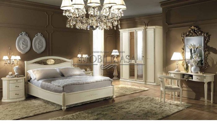 Итальянская спальня Siena Avorio фабрики CAMELGROUP